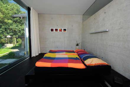 Schlafzimmer: moderne Schlafzimmer von schroetter-lenzi Architekten