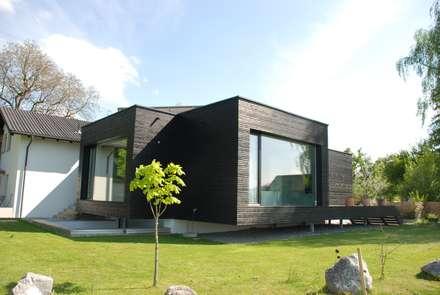 Nordansicht: moderne Häuser von schroetter-lenzi Architekten