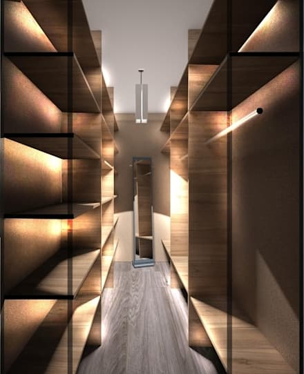 غرفة الملابس تنفيذ PLANiUM