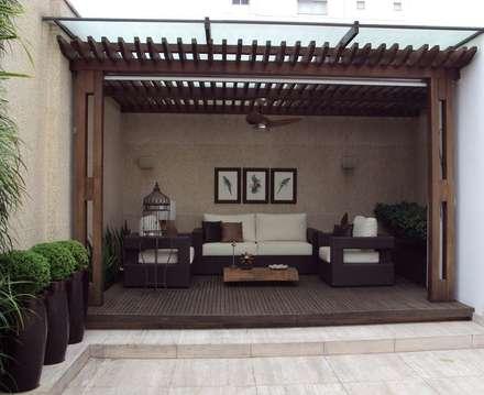 Jardins modernos por homify