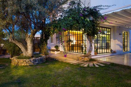 Vivienda en Benicassim. Valencia: Jardines de estilo moderno de Egue y Seta
