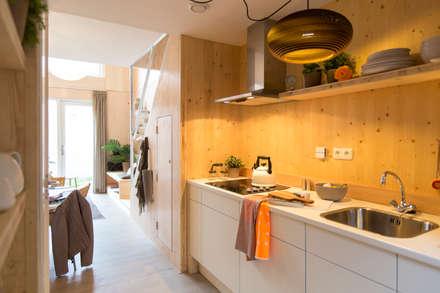Heijmans ONE: minimalistische Keuken door MoodBuilders