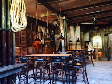 London Ninth Ward Bar & Restaurant   Farringdon road,london:  Bars & clubs by woodstylelondon