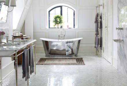 Drummonds Case Study: European Retreat, Denmark: scandinavian Bathroom by Drummonds Bathrooms