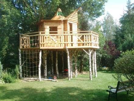 Domek dla Kasi: styl , w kategorii Ogród zaprojektowany przez PHU Polma