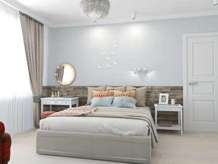 scandinavian Bedroom by Ekaterina Donde Design