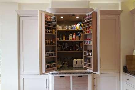 HAND BUILT KITCHEN: modern Kitchen by COOPER BESPOKE JOINERY LTD