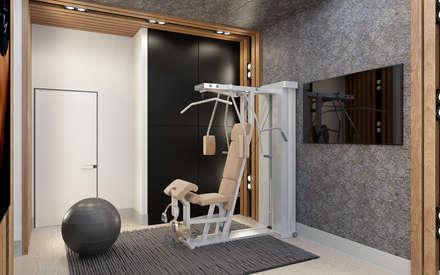 minimalistic Gym by Samarina projects
