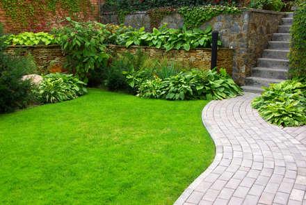 giardino mediterraneo: Giardino in stile in stile Mediterraneo di italiagiardini