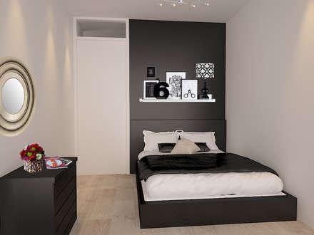 Zwarte Slaapkamer Ideeen : Slaapkamer kleuren inspiratie tips voor kleurencombinaties