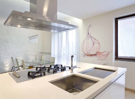 Ajos: Cocinas de estilo clásico de Murales Divinos
