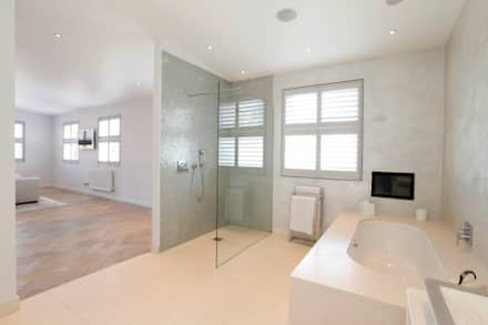 wandsworth london detached house refurbishment and design classic bathroom by urban cape interiors - Design Bathroom Ideas