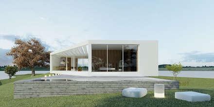 casa T+C: Habitações  por Artspazios, arquitectos e designers