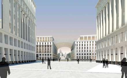 Plaza Ansicht B:  Einkaufscenter von Visionmaker