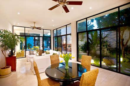 Casa CP78: Comedores de estilo moderno por Taller Estilo Arquitectura