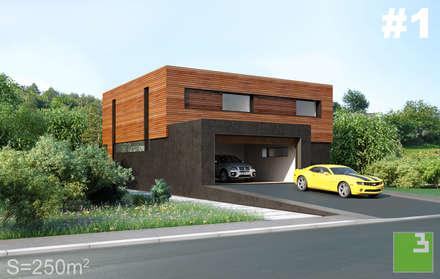 Готовые дома: Дома в . Автор –  Aleksandr Zhydkov Architect