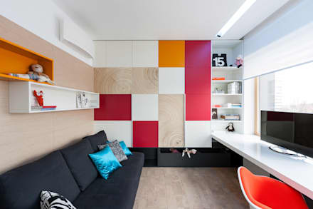 apartment V-21: minimalistic Nursery/kid's room by VALENTIROV&PARTNERS