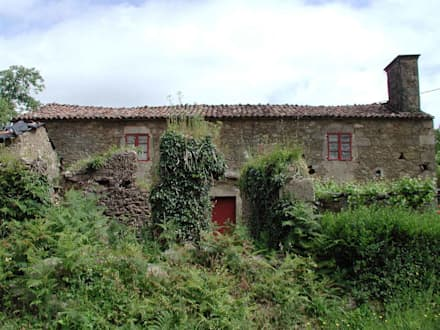 Estado previo-01: Casas de estilo rural de Intra Arquitectos