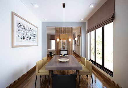 Phòng ăn by KAPRANDESIGN