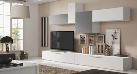 composicin de saln lnea moderna salones de estilo moderno de crea y decora muebles
