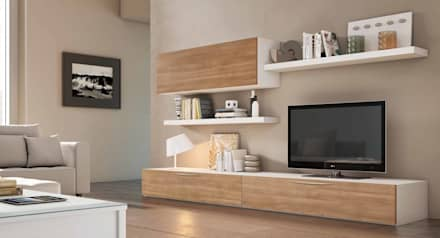Salones modernos dise o e ideas de decoraci n homify - Como decorar el mueble del salon ...