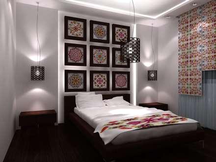 bedroom design : Chambre de style de style Moderne par michel bandaly