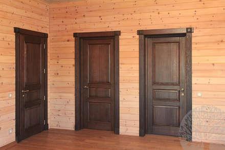Двери из массива дуба: Окна в . Автор – Lesomodul