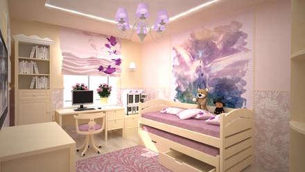 Трех комнатная квартира по ул Осенний бульвар: Детские комнаты в . Автор – дизайн-бюро ARTTUNDRA