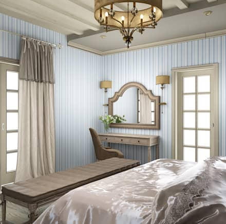 Dormitorios de estilo rural por Eclectic DesignStudio