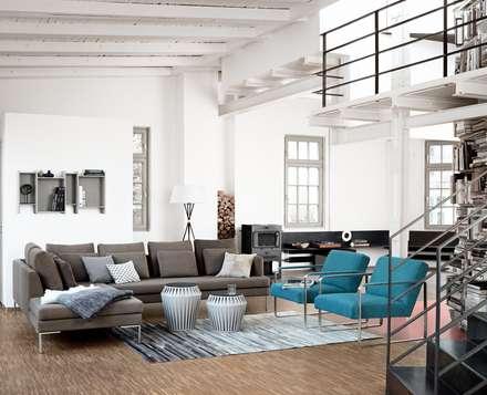 Istra: scandinavian Living room by BoConcept Bristol