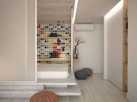 48 метров уюта: Спальни в . Автор - YOUR PROJECT