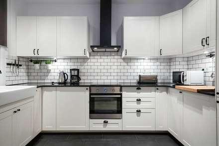 cocina cocinas de estilo moderno de timedsign