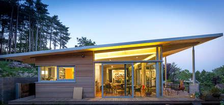 Fonds Gouvart: Maisons de style de style Moderne par OPEN ARCHITECTES