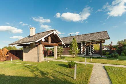 Smart Wood -  баня и летняя кухня: Сады в . Автор – Smart Wood
