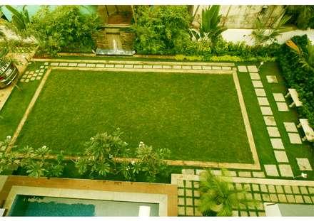 URBAN NEST: modern Garden by Aadyam Design Studio