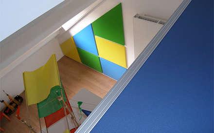 SLAAPZOLDER   denk in 3D: moderne Kinderkamer door WEBERontwerpt   architectenbureau