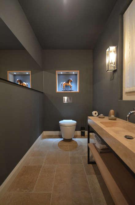badezimmer ideen einrichtung bilder im landhausstil homify. Black Bedroom Furniture Sets. Home Design Ideas