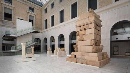 museo arqueologico nacional: Museos de estilo  de frade arquitectos
