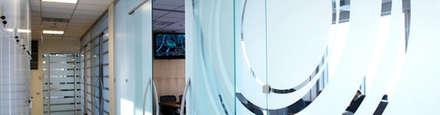 optische abtrennung messefläche:  Messe Design von BCR  informieren   leiten   werben