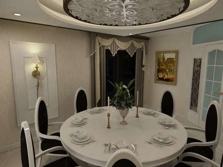 Fabbrica Mobilya – Özel Ev Tasarımı: klasik tarz tarz Oturma Odası