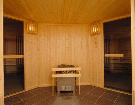 Bespoke Sauna: scandinavian Spa by Oceanic Saunas
