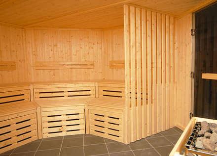 Bespoke Sauna : scandinavian Spa by Oceanic Saunas