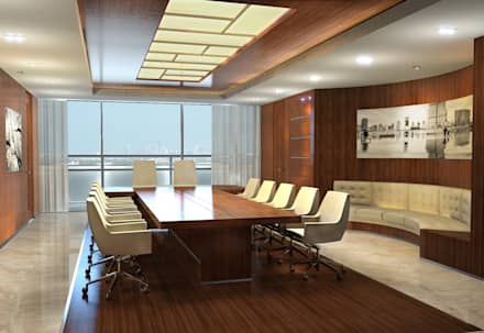 Офис: Конференц-центры в . Автор – Лаборатория дизайна интерьера