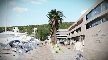 Bay of Shells, Korcula, Croatia:  Hotels by Volume 3