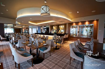 No. 19 Close House Golf Club:  Bars & clubs by Rachel McLane Ltd