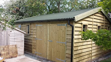 colonial Garage/shed by Regency Timber Buildings LTD