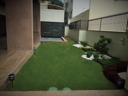 area de alberca jardines de estilo minimalista por ingarden - Jardines Minimalistas