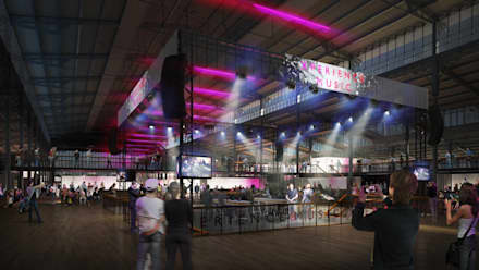 Xperience Music:  Event venues by Sebastien Rigaill 3D Visualiser