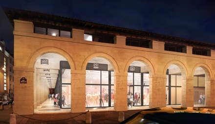 Marché Saint-Germain:  Shopping Centres by Sebastien Rigaill 3D Visualiser