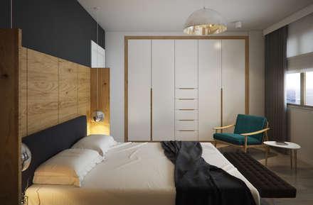 yücel partners – D&S Altaş Home: modern tarz Yatak Odası